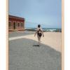 Echtholzrahmen FotoGrafik Fux Fuerteventura